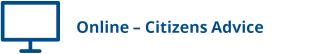 Online - Citizens Advice